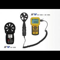 Измерение влаги, ветра, звука, вибрации, температуры, света