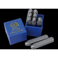 Набор ударных клейм(0-9) 6 мм, цифры, 9 предметов