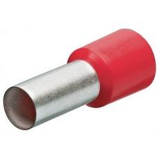 Гильзы контактные с пластмассовым изолятором KNIPEX 97 99 337 (10 мм²) упаковка 100шт