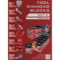 Рекламний набір іграшкових інструментів блок А 8 одиниць