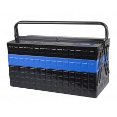 Ящик переносной для инструмента металлический Синий 470x220x260mm