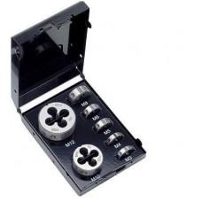 Набор плашек М3-4-5-6-8-10-12; HSS-E; DRILBOX. DIN 223