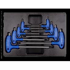 Набор L-обр. c шар. HEX 2-10 мм. 8 предметов