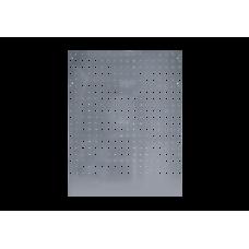 Панель перфорированная серая задняя угловая 1075 x 24 x 798