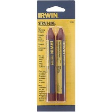 Мелок-карандаш разметочный Irwin Strait-Line 2 шт Красный (666012)
