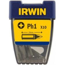 """Бита Phillips INSERT BIT 1/4""""/25мм PH2 10шт, IRWIN"""