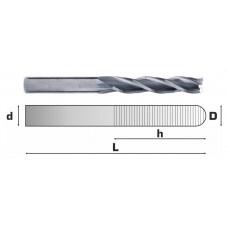 Фреза спиральная трехзубая 3 мм