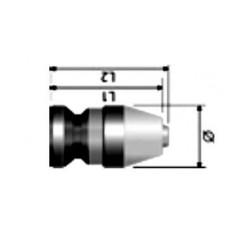 Микро патроны. Диапазон зажима 0,3 - 3. Посадка J0/B6