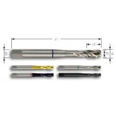 Метчик машинный М3x0,5 мм DIN 371 35 ° HSSCo