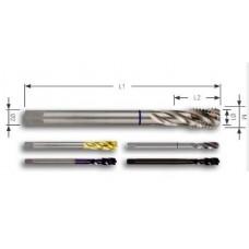 Метчик машинный М3x0,5 мм DIN 376 35 ° HSSCo