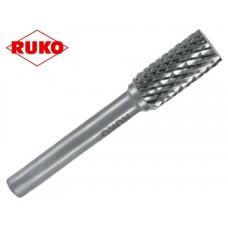 Цилиндрический напильник твердосплавный с цилиндрическим зубчатым зацеплением Ручная форма ЗЯС / 3 мм