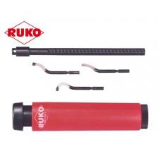 Ruko Unigrat E - Набор для удаления заусенцев, 5 предметов