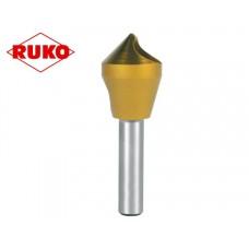 Зенковка по металлу коническая с поперечным отверстием Ручка 90 ° HSS / TiN 28 мм