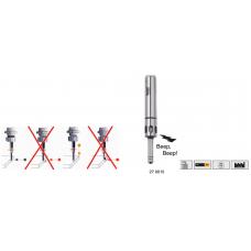 Краеискатель 2D Н=158 с оптическим и звуковым сигналом