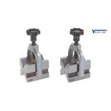 Призмы для валов от 5-30 до 7-70 стальные парные с хомутом Vogel