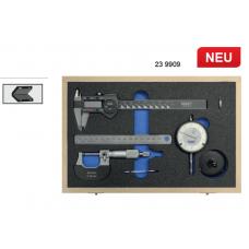 Набор из цифр. штангенциркуля, микрометра, индикатора и линейки