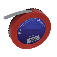 Щупы 0,01-1,00 мм из стали в виде ленты длиной 5 м в рулетках