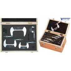 Набор микрометров гладких МК 25 - МК 150 из 6 шт Vogel