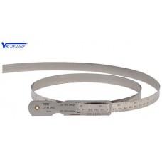 Линейки охватывающие (циркометры) ЛИОД для измерения наружных диаметров от 20-300 до 3100-3500 мм с травлёными делениями из пружинной стали